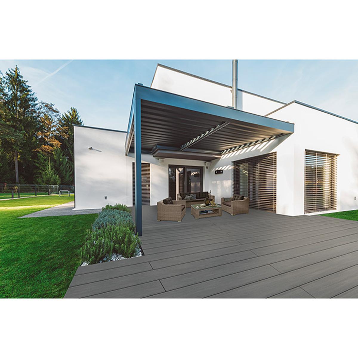 Bild 3 von b!design WPC-Terrassendiele Silver Grey