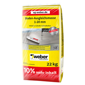 SG Weber Bodenausgleichsmasse Schnell