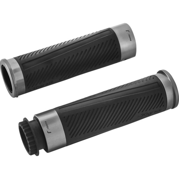 Rizoma Lenkergriffe 30 Gradi Alu für 22mm GR224D grau