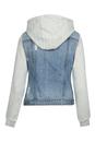 Bild 2 von Blaue Jeans Jacke mit Sweatshirt Style