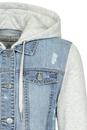 Bild 3 von Blaue Jeans Jacke mit Sweatshirt Style
