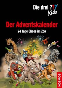 Die drei ??? - Adventskalender 2020 - 24 Tage Chaos im Zoo