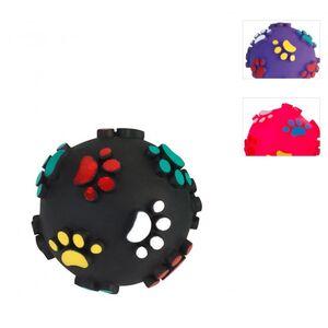 Hundespielzeug - Spielball mit 3D Pfoten - 1 Stück