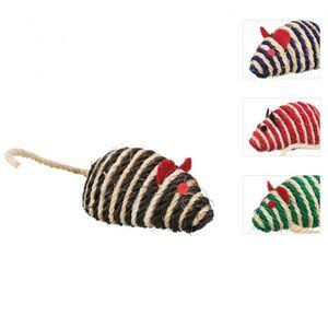 Katzenspielzeug - Sisalmaus mit Glöckchen - 1 Stück