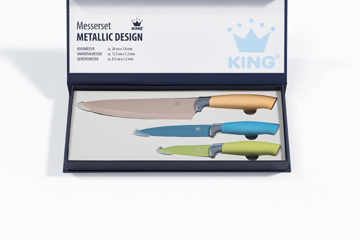 Bild 3 von KING 6tlg. Vorteilsset inkl. Schüsseln und Messer