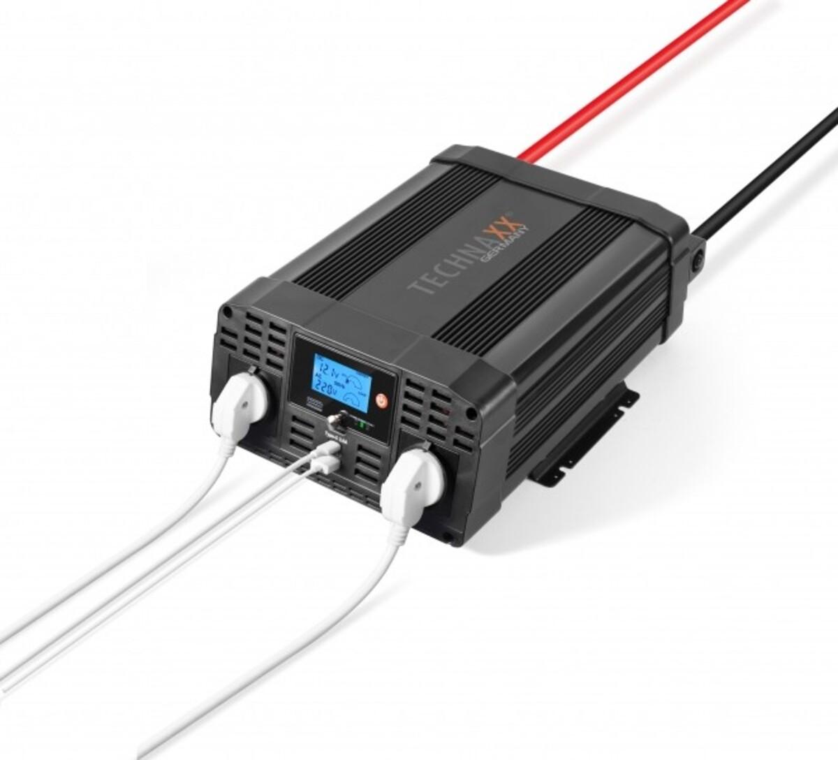 Bild 1 von Technaxx Kfz-Spannungswandler / Wechselrichter 2000W TE20