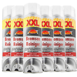 Carfit XXL Bremsenreiniger - 6-er Set