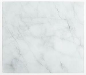 Kesper XXL Herdabdeckplatte aus Glas - Marmor