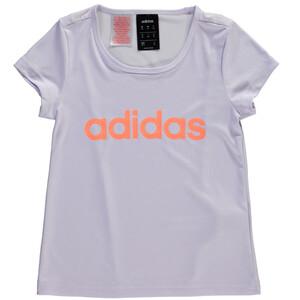 Mädchen Sport Shirt mit Logo