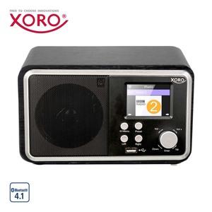 WLAN-Internet-Radio HMT 300 V2 • FM- und DAB-Sender • 2 Weckzeiten, Wettervorhersage • MP3-Streaming, USB-/Aux-Anschluss