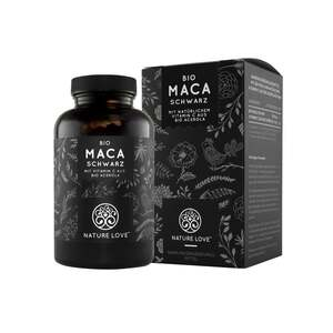 Nature Love Bio Maca (schwarz) Kapseln