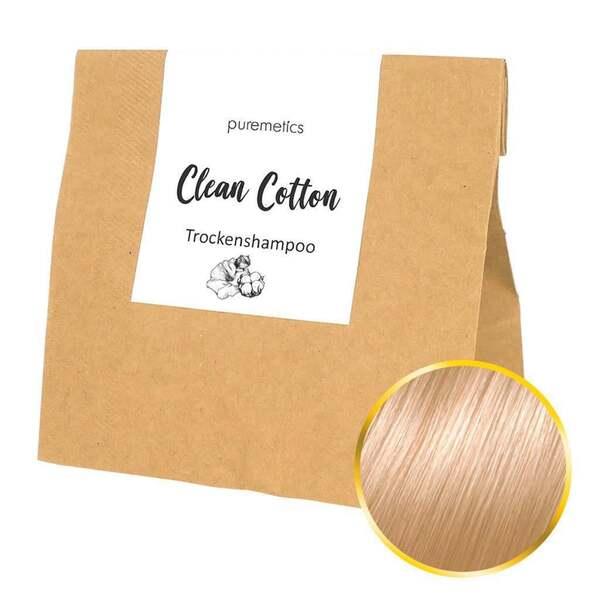 puremetics Trocken-Shampoo Clean Cotton Nachfüllpack