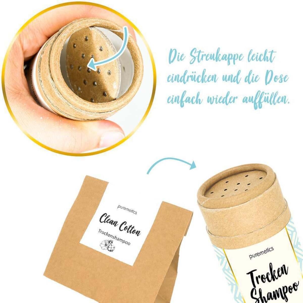 Bild 3 von puremetics Trocken-Shampoo Clean Cotton Nachfüllpack