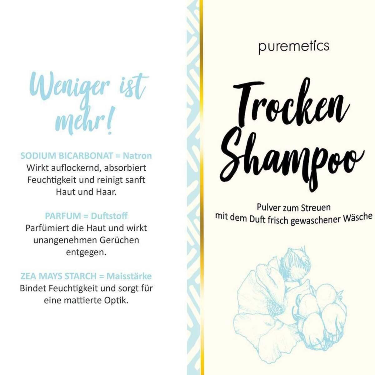 Bild 4 von puremetics Trocken-Shampoo Clean Cotton Nachfüllpack
