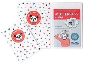 """MamaDoc Taschenbuch """"Mutterpass erklärt"""" inkl. 2 Hüllen für Mutterpass & Impfpass"""