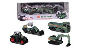 Majorette - Max Wild 4 pcs Giftpack