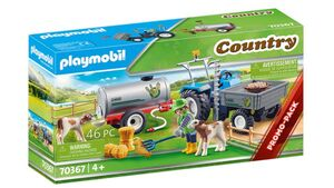 PLAYMOBIL 70367 - Country - Ladetraktor mit Wassertank