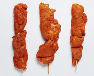 BBQ Hähnchen-Grillfackeln