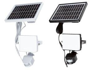 LIVARNO LIVING® LED-Solarstrahler, mit Bewegungsmelder, 9 Watt, 30.000 Stunden Leuchtdauer