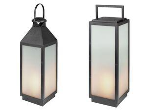 MELINERA® LED-Laterne, mit Flammeneffekt, mit 54 LEDs, inklusive Batterien