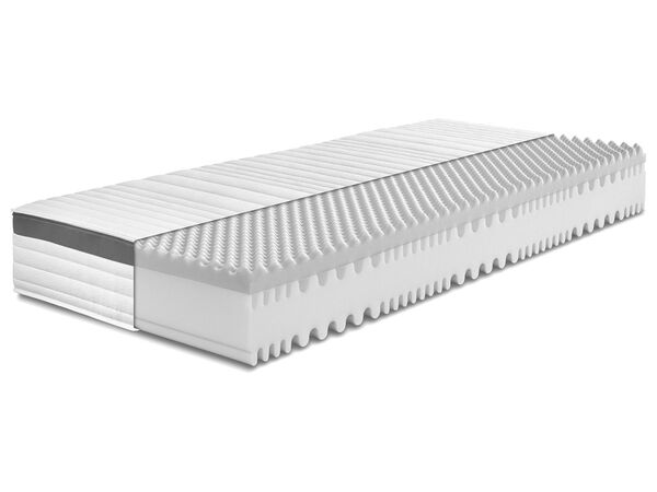 BADENIA TRENDLINE 7-Zonen XXL-Komfortschaum-Matratze mit Noppenschaum-Auflage und Wendefunktion