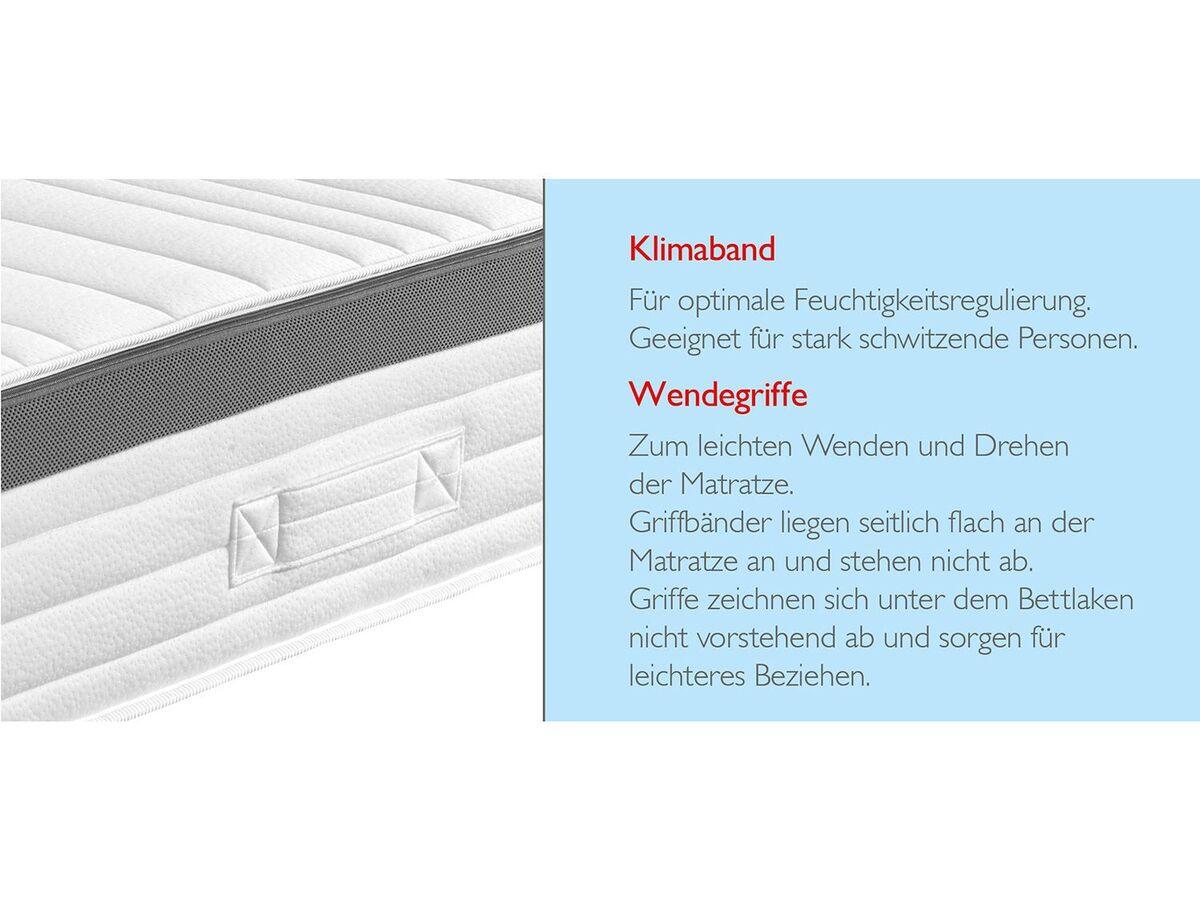 Bild 5 von BADENIA TRENDLINE 7-Zonen XXL-Komfortschaum-Matratze mit Noppenschaum-Auflage und Wendefunktion