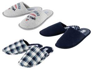 LIVERGY® Hausschuhe Herren, mit gepolsterter Decksohle, flexible Laufsohle