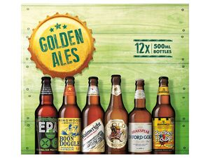 Marston's Golden Ales of England