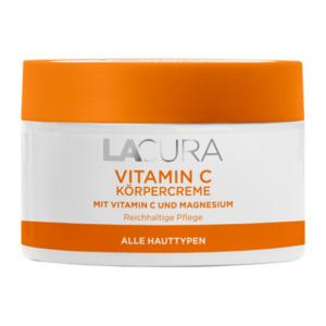 LACURA     Vitamin C Körpercreme