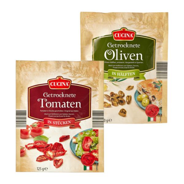 CUCINA     Getrocknete Tomaten/Oliven