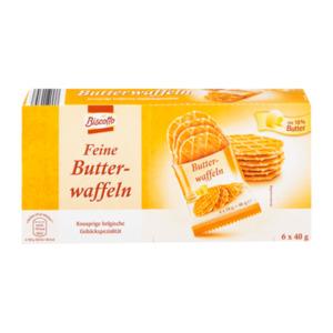 BISCOTTO     Feine Butterwaffeln