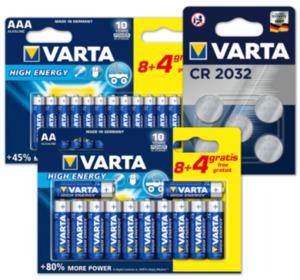 VARTA Batterien HIGH ENERGY