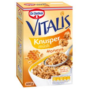 Dr. Oetker Vitalis Knusper-Honeys 600g