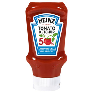 Heinz Tomato Ketchup 50% weniger Zucker & Salz 500ml
