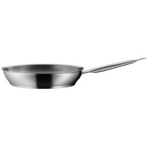 WMF Gourmet Plus Bratpfanne Ø 28 cm, Pfanne unbeschichtet, Cromargan Edelstahl mattiert, induktionsgeeignet edelstahl