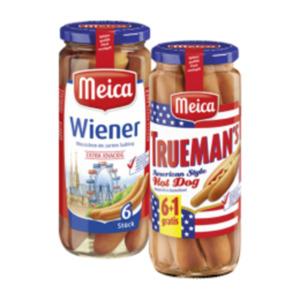 Meica Wiener Würstchen oder Trueman's Hot Dog