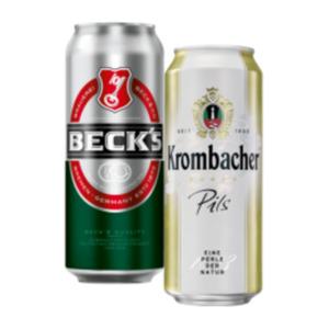 Krombacher oder Beck's