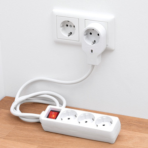 Powertec Electric 3-fach-Steckdose