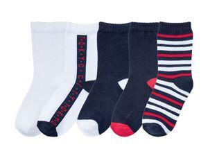 PEPPERTS® Socken Jungen, 5 Paar, mit Baumwolle und Elasthan