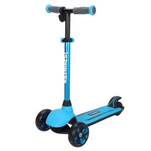 iSporter Elektro Scooter 2 in 1 blau