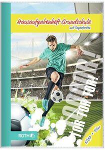 Grundschulaufgabenheft - Klipp+Klar - DIN A5 - Fußballstar