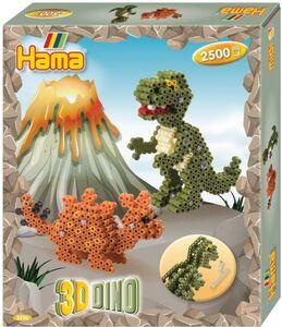 Hama - Stiftplatte 3D - Dinosaurier