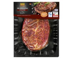 BBQ Rib-Eye-Steak, Pfeffer