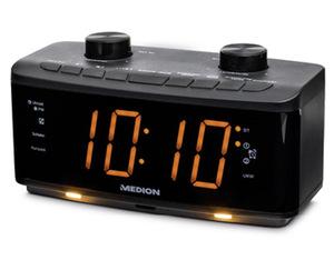 MEDION®  Uhrenradio mit Nachtlicht