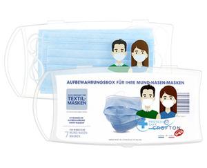CROFTON®  Masken-Aufbewahrungsbox