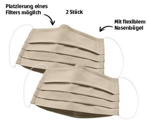 Textile Mund-Nasen-Masken