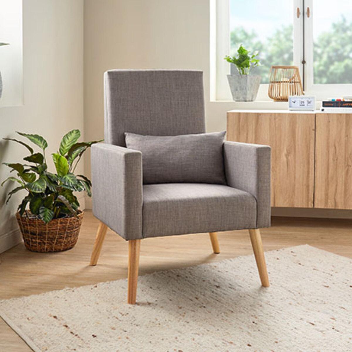 Bild 2 von 2-in-1 Schaukelstuhl-Sessel inkl. Zierkissen1