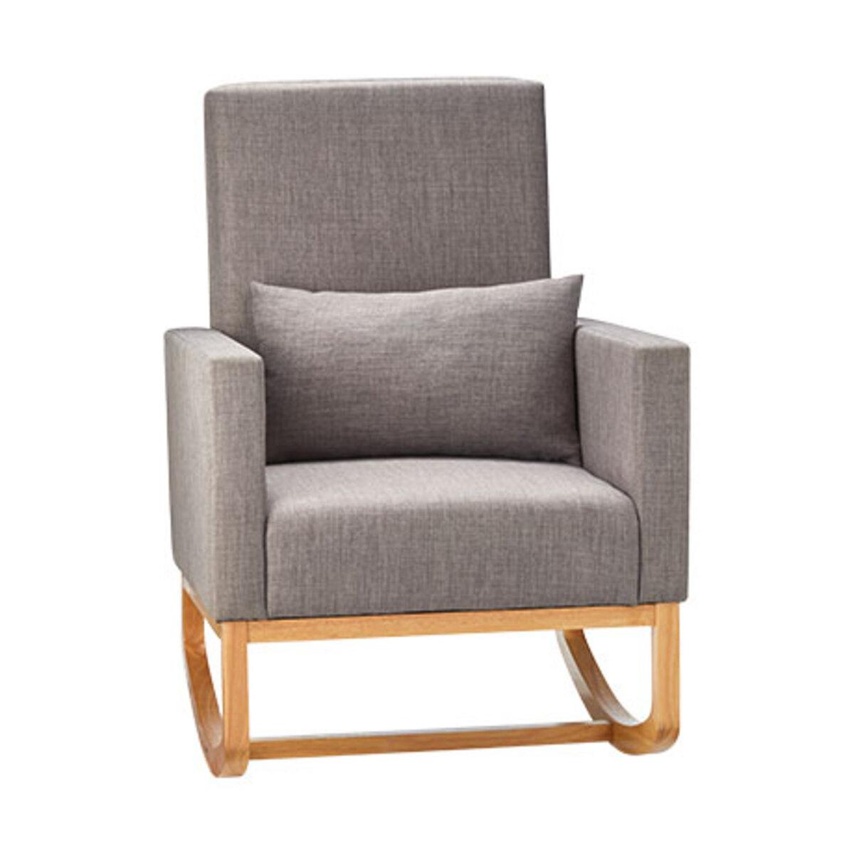 Bild 4 von 2-in-1 Schaukelstuhl-Sessel inkl. Zierkissen1