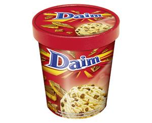 Oreo/Milka/Daim Eiscreme