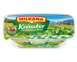 Milkana Schmelzkäse-zubereitung